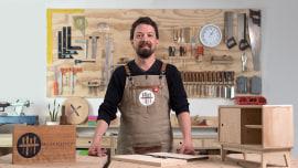 Design et fabrication de meubles pour les débutants. Un cours de Design , et Loisirs créatifs de Patricio Ortega (Maderística)