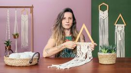 Introdução à tapeçaria em macramê. Um curso de Craft de Natalia Corbi (Aram Studio)
