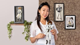 Techniques créative pour l'illustration de mode. Un cours de Illustration de Connie Lim