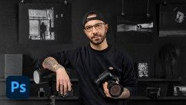 Portrait photographique en noir et blanc avec du caractère. Un cours de Photographie , et Vidéo de jeosm