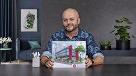 Architektonische Illustration: vermenschliche das Design eines Raumes. A Architektur, Raumgestaltung und Illustration course by Marcelo Marttins