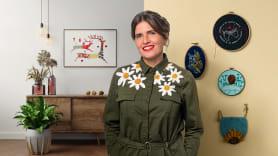 Técnicas básicas de bordado: puntadas, composiciones y gamas cromáticas. Um curso de Craft de Señorita Lylo