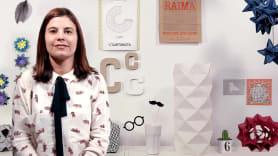 Creación de lámparas de Origami con papel. A Craft course by Estela Moreno