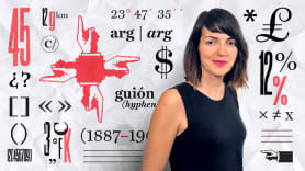 Ortotipografía para diseñadores. A Design, Calligraph, , T, and pograph course by Raquel Marín Álvarez
