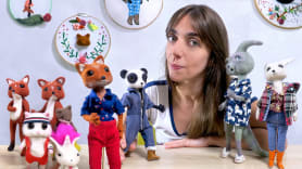 Needle felting: creación de personajes con lana y aguja. A Craft course by Carolina Alles