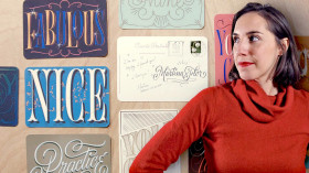 The Golden Secrets of Lettering. A Calligraphy, and Typography course by Martina Flor