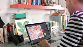 Animación de cortinillas de televisión con motion graphics. Un curso de 3D y Animación de Fabio Medrano