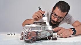 Fotografía creativa en estudio con modelos a escala. Un curso de Fotografía y Vídeo de Felix Hernandez Dreamphography