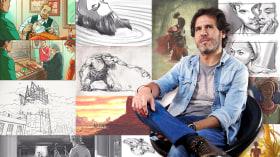 Ilustración de storyboards para cine y publicidad. Un curso de Ilustración, Fotografía y Vídeo de Pablo Buratti