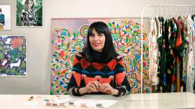 Diseño de estampados textiles. Un curso de Ilustración y Moda de la casita de wendy