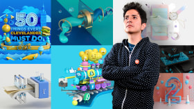 Prototypes and Product Viewing in Cinema 4D. A 3D, and Animation course by Aarón Martínez