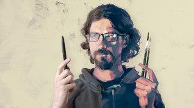 Pinceles y pixeles: introducción a la pintura digital en Photoshop. Un curso de Ilustración de Patricio Betteo