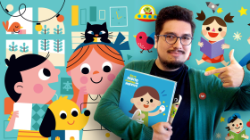 Illustration and Design of Children's Books. A Illustration course by Carlos Higuera