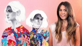 Retrato con lápiz, técnicas de color y Photoshop. Un curso de Ilustración de Beatriz Ramo (Naranjalidad)