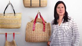 Techniques de vannerie contemporaine appliquée à la mode. Un cours de Loisirs créatifs de Idoia Cuesta