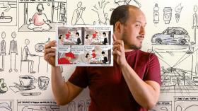 Introducción al cómic autobiográfico. Un curso de Ilustración de Mariano Diaz Prieto