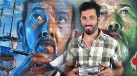 Iniciação à pintura com spray. Um curso de Ilustração de Miguel Ángel Belinchón Bujes