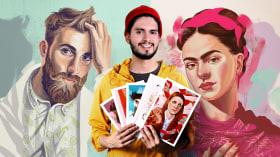 Digital Techniques for Illustrated Portraits. A Illustration course by German Gonzalez Ramirez