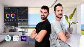 3D-Architekturanimation. A 3-D, Animation, Architektur und Raumgestaltung course by AMO 3D Visual