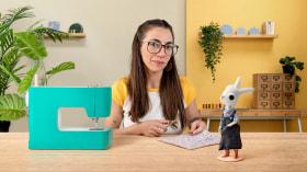 Confecção de roupa em miniatura. Um curso de Craft de Carolina Alles