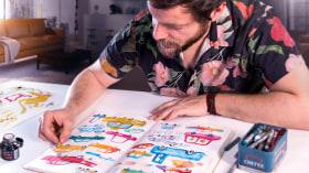 Illustrationstechniken, um die Kreativität zu deblockieren. A Illustration course by Adolfo Serra