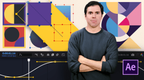 Introduction to Motion Design and Animation Curves in After Effects. A 3D, and Animation course by Holke 79