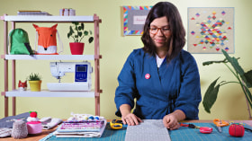 Basic Sewing with a Sewing Machine. A Craft course by Julia Reyes Retana