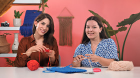 Knitting and Crochet Basic Techniques. A Craft course by Binge Knitting