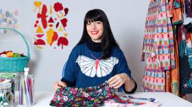 Diseño y composición de patterns textiles . Un curso de Ilustración y Moda de la casita de wendy