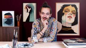 Tecniche di illustrazione con acquerello digitale. Un corso di Illustrazione di Ricard López Iglesias