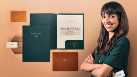 Design of a Captivating Corporate Stationery Set. A Design course by Menta Branding