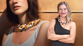 Creation of Textile Jewelry. A Craft course by Maria La Biyux