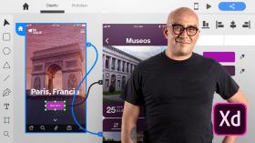 Introducción a Adobe XD para aplicaciones móviles. Un curso de Diseño, Diseño Web y App de Arturo Servín