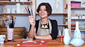 Bijouterie en céramique pour débutants. Un cours de Craft de Julieta Álvarez