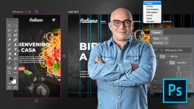 Adobe Photoshop para design web. Um curso de Web Design e App de Arturo Servín
