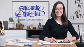 Introducción a la caligrafía itálica. Un curso de Caligrafía y Tipografía de Belén La Rivera