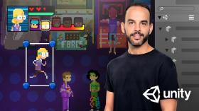 Einführung zu Unity für 2D-Videospiele. A 3-D und Animation course by Juan Diego Vázquez Moreno