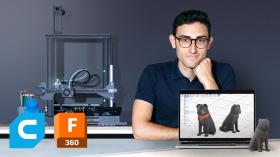 Einführung in 3D-Design und -Druck. A 3-D und Animation course by Agustín Arroyo