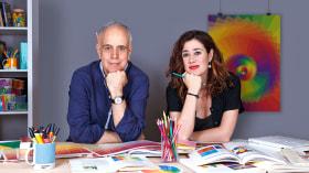Color Applied to Graphic Design. A Design course by Leire y Eduardo