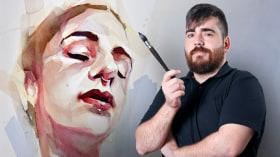 Retrato artístico en acuarela. Un curso de Ilustración de Ale Casanova