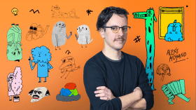 2D Animation with a Comedic Tone. A Illustration, 3D, and Animation course by Alexis Moyano