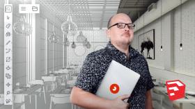 Einführung zu SketchUp. A 3-D, Animation, Architektur und Raumgestaltung course by Alejandro Soriano