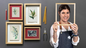Introduction to Frame Making. A Craft course by El Pez Enmarcado