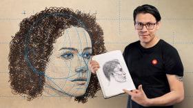 Dibujo anatómico para principiantes. Un curso de Ilustración de ZURSOIF Miguel Bustos Gómez