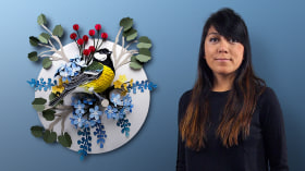 Advanced Papercraft Techniques: Designing with Paper. A Craft course by Diana Beltran Herrera