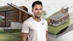 Digitale Illustration von Architekturprojekten. A Illustration, Architektur und Raumgestaltung course by Fernando Neyra Moreta