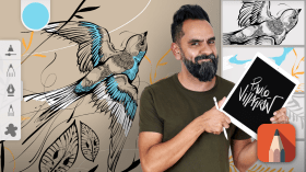 Introduction to SketchBook Pro. A Illustration course by Paulo Villagrán
