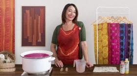 Introdução à técnica de tingimento shibori. Um curso de Craft de Carolina Raggio
