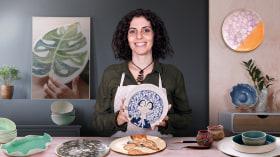 Esmaltado en cerámica para principiantes. Un curso de Craft de Paula Casella Biase