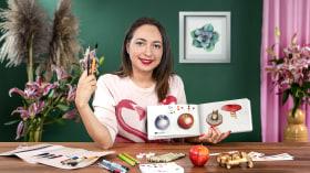 Botanical Watercolor Sketchbook. A Illustration course by Paulina Maciel · Canela